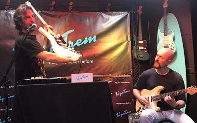 Vegatrem VT1 Show Presentation Madrid. Special Guest Master Guitar Player Pedro Andrea