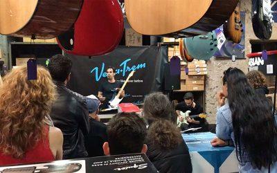 Vegatrem VT1 Show Presentation Palma.  Special Guest Master Guitar Player Unai Iker