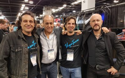 Vegatrem team at Namm Show 2019