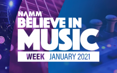 NAMM's Believe in Music Week