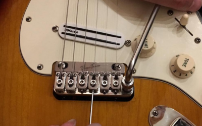 EXPERT TIPS   A suggestion to adjust the intonation of the saddles in your VT1