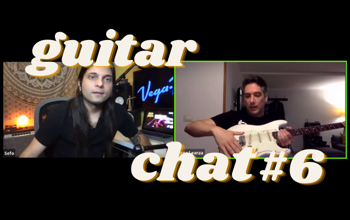 Guitar Chat #6: Diego Leanza