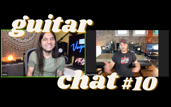 Guitar Chat #10: David Palau