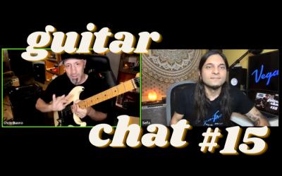Guitar Chat #15: Chris Buono