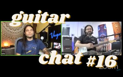 Guitar Chat #16: Cesar Huesca