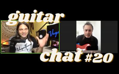Guitar Chat #20: Claudio Tano Marciello